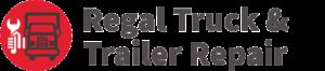 Regal Truck Repair Logo Simple