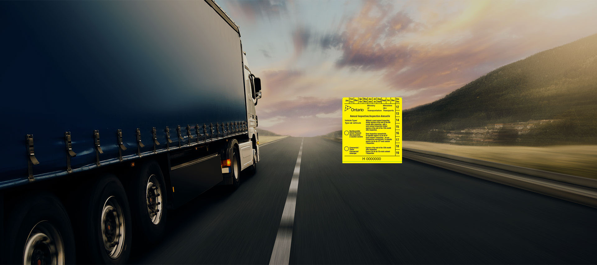 Annual Safety for Trucks, Trailers and Commercial Vehicles