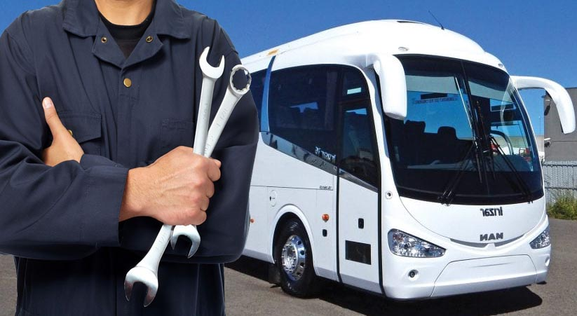 Mobile Coach Bus Repair